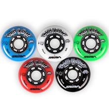 Original 8pcs/lot Professional Brake Wheels Roller Skates Slalom Roller Wheels Wear-resisting For SEBA HV SI HVG HYPER +G(China)