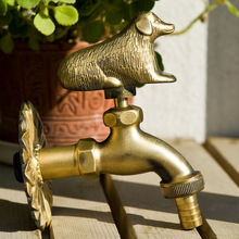 Animal faucet garden faucet antique faucet European style faucet washing machine leading dog(China)