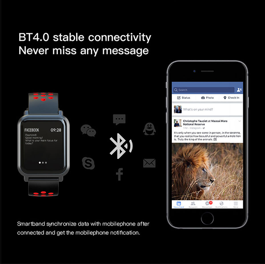 COLMI Smart Watch Men Tempered glass Fitness Tracker Blood pressure IP68 Waterproof Activity Tracker Women Smartwatch 9