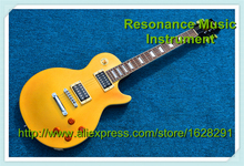 Wholesale and Retail LP Standard Electric Guitar Slash Appetite Yellow Model In Stock For Sale