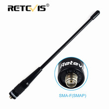 Retevis RHD-701 SMA-F VHF UHF Antenna 20cm 2dBi Walkie Talkie Accessories For Kenwood Baofeng UV5R UV82 888S RT5R H777 For HYT