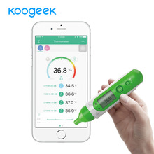 Koogeek Smart Bluetooth Thermometer Baby Thermometer Body Forehead Ear Thermometer Dual Modes Baby Health Care Monitor with APP