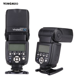 Беспроводная вспышка YONGNUO YN 560 III IV для фотоаппарата Nikon, Canon, Olympus, Pentax