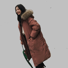 Womens Winter Jackets Fake Fur Coat Winter Outerwear For Women Long Padding Outerwear Hood Winter Warm Parka Womens Clothes(China)