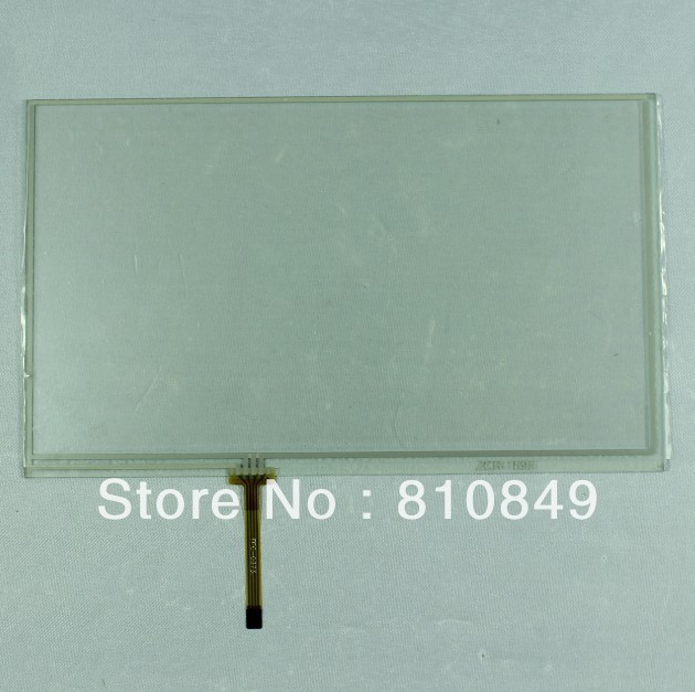 9inch 4-wire Resistive touch panel 120.7mm*75.8mm work for 9inch 800*480 lcd<br>