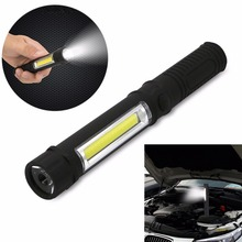 New Arrvied IKVVT Brand Mini Multifunction 10000 Lumens Zoomable LED Flashlight COB Work Hand Torch Lamp(China)