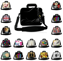 Neoprene Latest Laptop Messenger Bag 17 16.8 17.3 17.4 inch Men's Shoulder Strap Notebook Tablet PC Cover Cases For Asus HP Dell