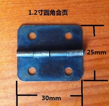 2014 Limited Seconds Kill Freeshipping 30 * 25mm Antique Decoration Hinge Small Square Metal Retro Flat(China)