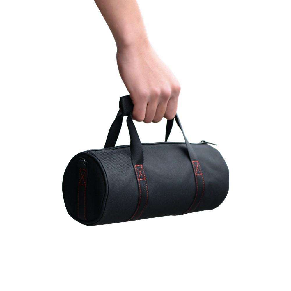 Cewaal Bluetooth Speaker Bag Soft Round Handbag Carry Case For JBL Plus E3 Professional Music Speakers Travelling Protector Bag