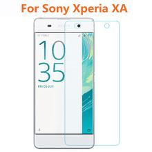 ShuiCaoRen For Sony Xperia XA Tempered Glass 9H Protective Film Explosion-proof Screen Protector for XA Dual F3113 F3112 F3115