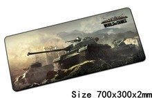 World of tanks mouse pads 70x30cm pad to mouse notbook computer mousepad Gift gaming mousepad gamer to keyboard laptop mouse mat(China)