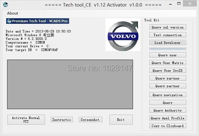 VTT CE 1.12 keygen For Volvo<br><br>Aliexpress