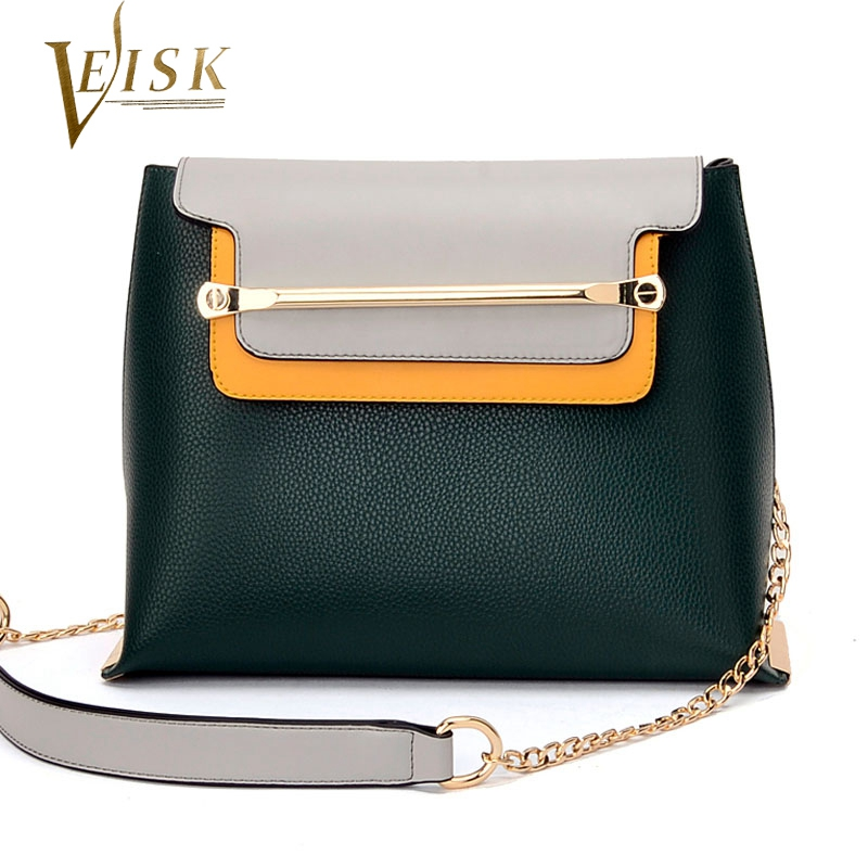 2017 New Designer Purses Womens Handbags High Quality PU Leather Women Shoulder Bags Panelled Small Crossbody Bag Shape of Flap<br><br>Aliexpress