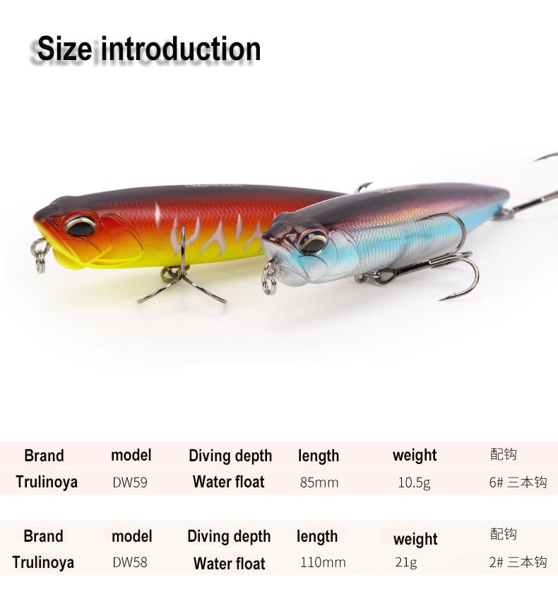 Trulinoya fishing lure floating pencil for sea fishing 1