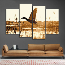 Animal Cuadros Abstractos Wall Poster For Home Decor Wild Goose Canvas Printing Swamp Modern Painting On Art Modular Pictures