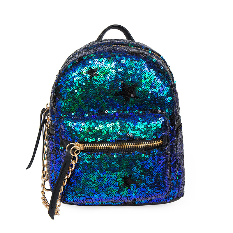 2017 Children Mini Shoulder Bag female Korean summer new fashion baby bag sequins leisure backpack<br>