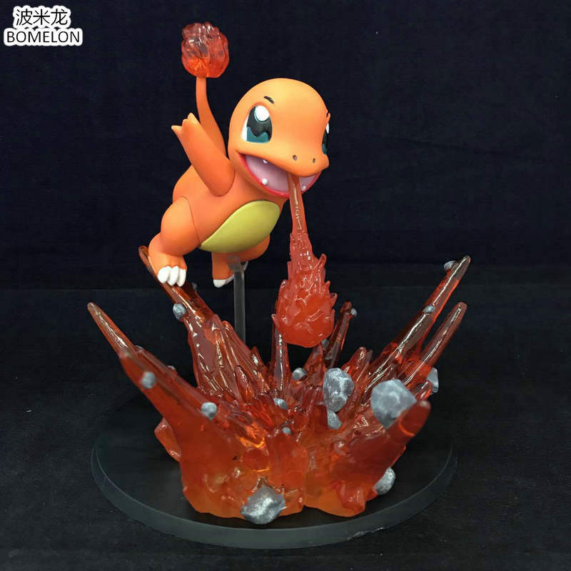 New Charmander Toy Figures Japanese Anime Figurines Kawaii Dragon baby Games Action Figure Brinquedos Toys for Children Gift<br>