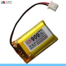 In the core 900mAh 3.7V lithium polymer battery 502530*2 speaker navigator learning machine 102530 Li-ion Cell