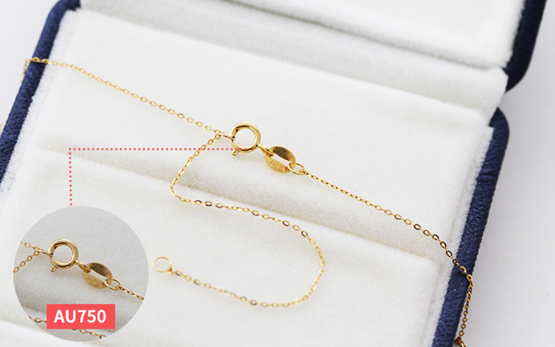 Sinya New Trendy Multifunctional Pendant 18k Au750 gold necklace for women girls lover Y style with Natural high luster pearls (19)