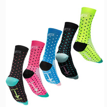 Sky Knight 2017 New Cycling Socks Men Women Colour DH Sports Breathable Nylon Running Basketball Bikes Socks 004
