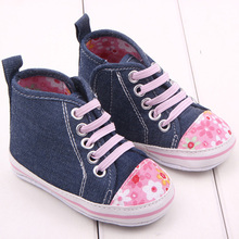 2016 Girl Sports Shoes First Walkers Baby Shoes Sneakers Baby Infant Soft Bottom Pre walker