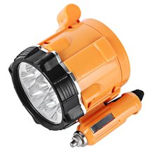 Car LED Light 12V Car Spotlight Warning Magnetic Work Lamp Portable Plastic Motor Accessory Bright and Durable Light weight
