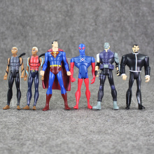 12Pcs/lot Captain America Civil War Avengers Figures Iron Man Ant-Man Hawkeye Spiderman Figure Toy PVC Dolls Great Gift