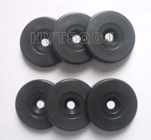 200pcs/lot Free shipping Manufacturer custom round shape PVC RFID coin tag 125khz(China)