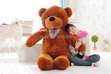 Valentine's day gifts Lovely GIANT 120CM 47'' Cotton Light Brown Giant 120cm Cute Plush Teddy Bear Huge Soft TOY