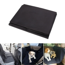 Car Rear Back Seat Carrier Cover Pet Dog Mat Blanket Oxford Waterproof Auto Trunk Pad Pets Cat Protector Travel Black - Empire Ants store
