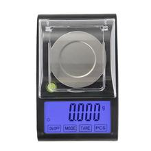 Buy 50g x 0.001g Electronic Digital Milligram Scale Precision LCD Jewelry Gold Gram Pocket Scales Blue Backlight Lab Weight Balance for $28.62 in AliExpress store