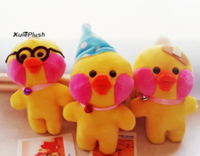 20PCS Kawaii NEW Quality Ducks 16CM Approx. Stuffed animal duck plush TOY DOLL - key chain Plush Pendant Toys(China)