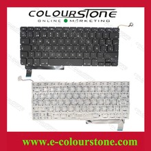 Brand New For Macbook A1286 Teclado Notebook SP layout black Spanish laptop keyboard Big enter key