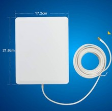 2.4G indoor wifi antenna booster in network cards 2.4G 14dBi panel antenna in wlan system