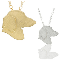 Devotion Playfulness Dachshund Discontinued Choker Necklace Give Love Dachshunds Charms Pendant Pet Memorial Dog Jewelry Gifts(China)