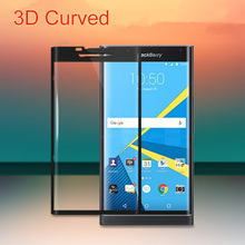 GXE 3D Curved Full Coverage Tempered Glass For Blackberry Priv Screen Protector Full Cover Protective Film For Blackberry Priv