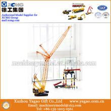 1:50 Big Scale Model, Diecast Construction Model, Original XCMG QUY300 Tower Crane Model, Crawler Crane Gift, Exhibiton Gift