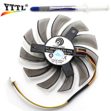 75MM Power Logic PLD08010S12H DC 12V 0.25A 3Pin Computer Cooling Fan Gigabyte Geforce GTX 570 630 750TI  Graphics Video Card