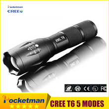 LED Flashlight 3800LM Torch CREE T6 Lanternas De Led De Alta T6 linterna 18650 Light Torch Fish Light Lamp Tactical Camping Z96(China)