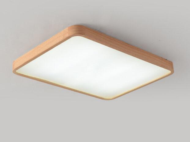 Plafoniere Moderne In Legno : Acquista plafoniera quadrata plafoniere a led la cucina della camera