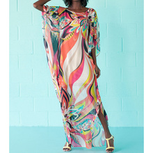 Beach Cover up Dress Kaftan Pareos Sarongs Sexy Cover-Up Chiffon Bikini Cover up Tunic Swimsuit  Cover Ups Robe De Plage