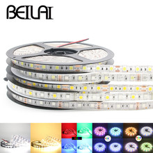 DC 12V RGB LED Strip Waterproof SMD 5050 5M 300LED RGBW RGBWW Fita LED Light Strips Flexible Neon Tape Luz Home Lighting
