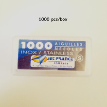 0.40X31 mm High Grade Professional Aiguilles Jet France Needle Loose Tattoo Needles 1000PCS/Pack(China)