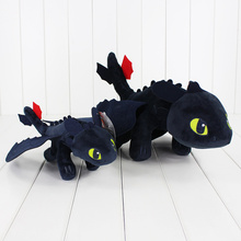 26-40cm How To Train Your Dragon Plush Toy Toothless Night Fury Soft Stuffed Animal Doll for Children