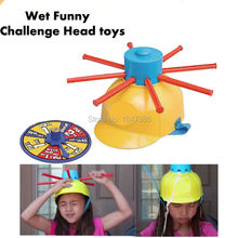 Water Roulette Game Wet Funny Challenge Head Toy Family Party Prank Games Great Game Gags Practical Jokes Funny Gadgets For kids(China)