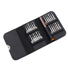 DIY 25 in 1 Repair opening Tool Kit Aid Pentalobe Torx Phillips Screwdrivers Pry Disassemble Tool Set for iPhone PC Camera Watch