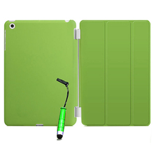 2017 Brand New Smart Stand Magnetic Leather Case Cover For Apple iPad Mini 1 2 & 3 colour:Green