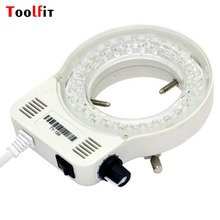 Toolfit 60000LM Adjustable Ring LED Round Light For Illuminator Lamp For STEREO Microscope Excellent Circle Light