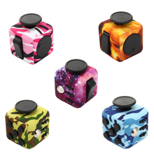 Fidget Cube Camouflage Original Toy for Adult 2017 Fidget Cube Mini Fidget Stress Toy Christmas Birthday Gift Free Shipping Drop(China)