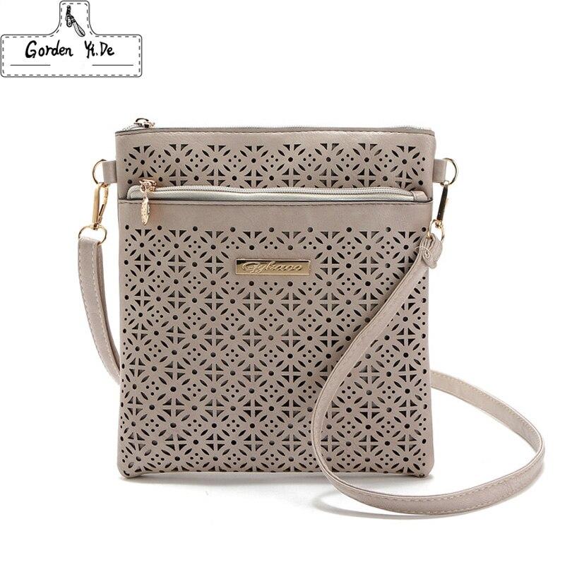 2017 new fashion small hollow women bags handbags ladies leather crossbody woman mini shoulder messenger bags bolsas femininas<br><br>Aliexpress